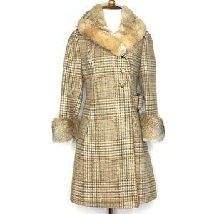 VTG 60s Youthcraft Union Made Fur Coat A190851